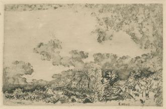 James Ensor etching