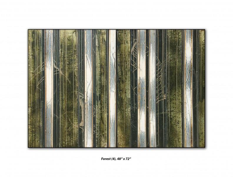 Acrylic on panel  48 x 72