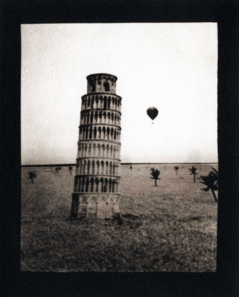 Tower pin-hole photograph